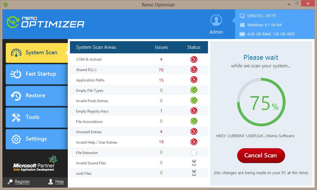 Remo Optimizer 2.0.0.115 full
